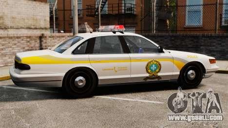 Police Quebec for GTA 4