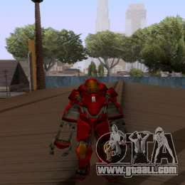 Skins Pack - Iron man 3 for GTA San Andreas sixth screenshot