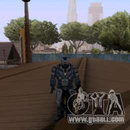 Skins Pack - Iron man 3 for GTA San Andreas fifth screenshot