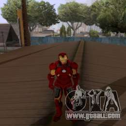 Skins Pack - Iron man 3 for GTA San Andreas seventh screenshot