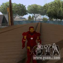 Skins Pack - Iron man 3 for GTA San Andreas tenth screenshot