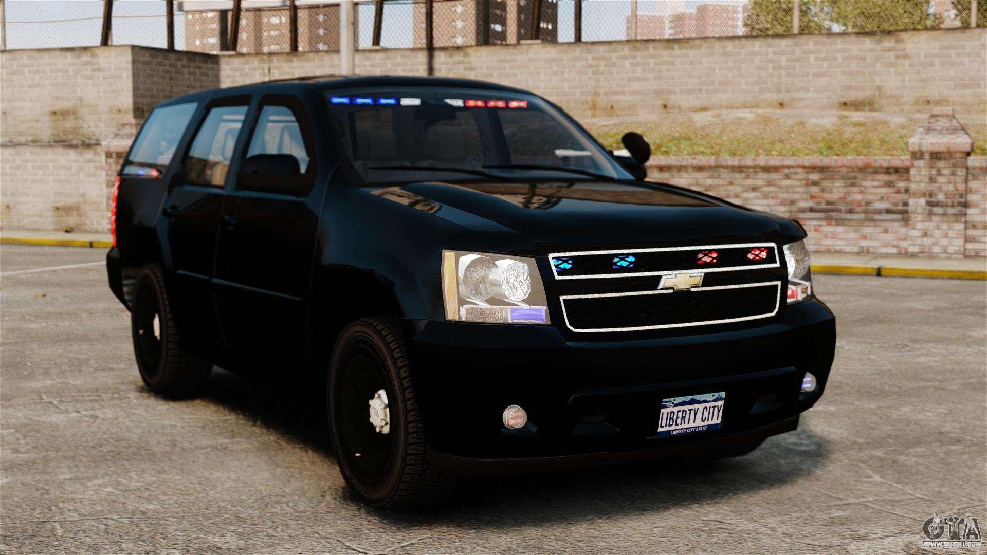Chevrolet Tahoe 2008 Unmarked ELS for GTA 4