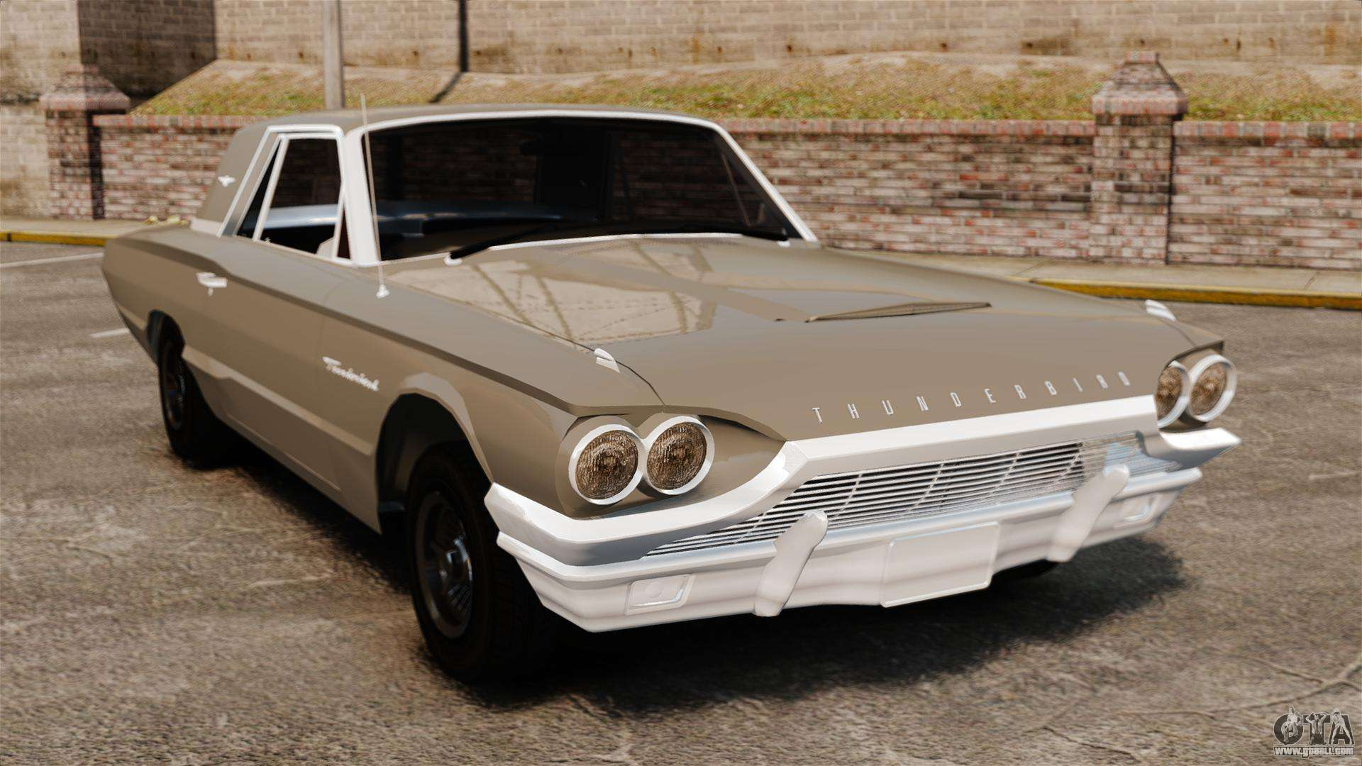 ford thunderbird 1964 for gta 4. Cars Review. Best American Auto & Cars Review