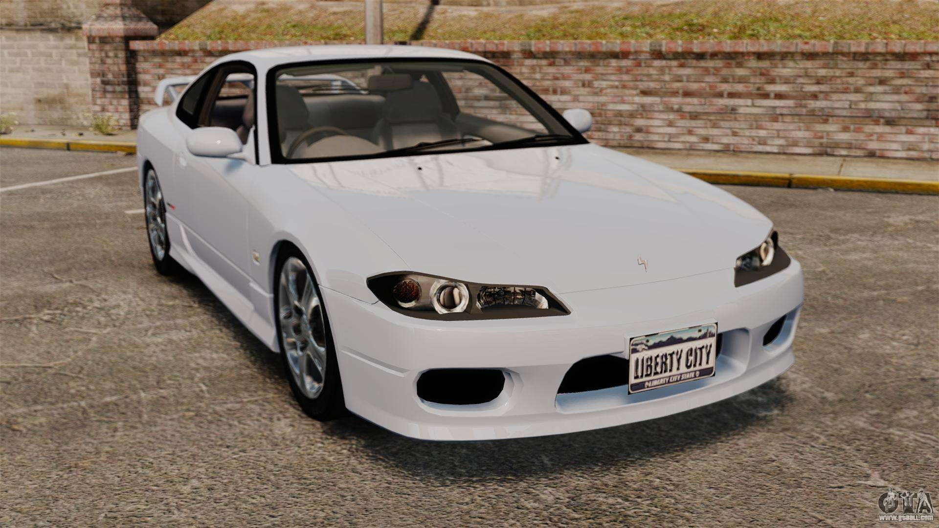 nissan silvia s15 v1 for gta 4. Black Bedroom Furniture Sets. Home Design Ideas