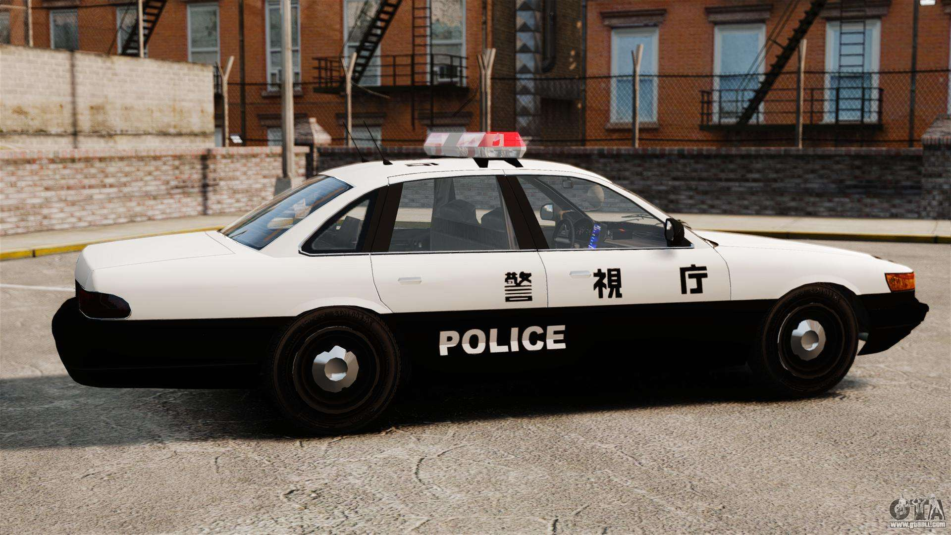 Japanese Police for GTA 4