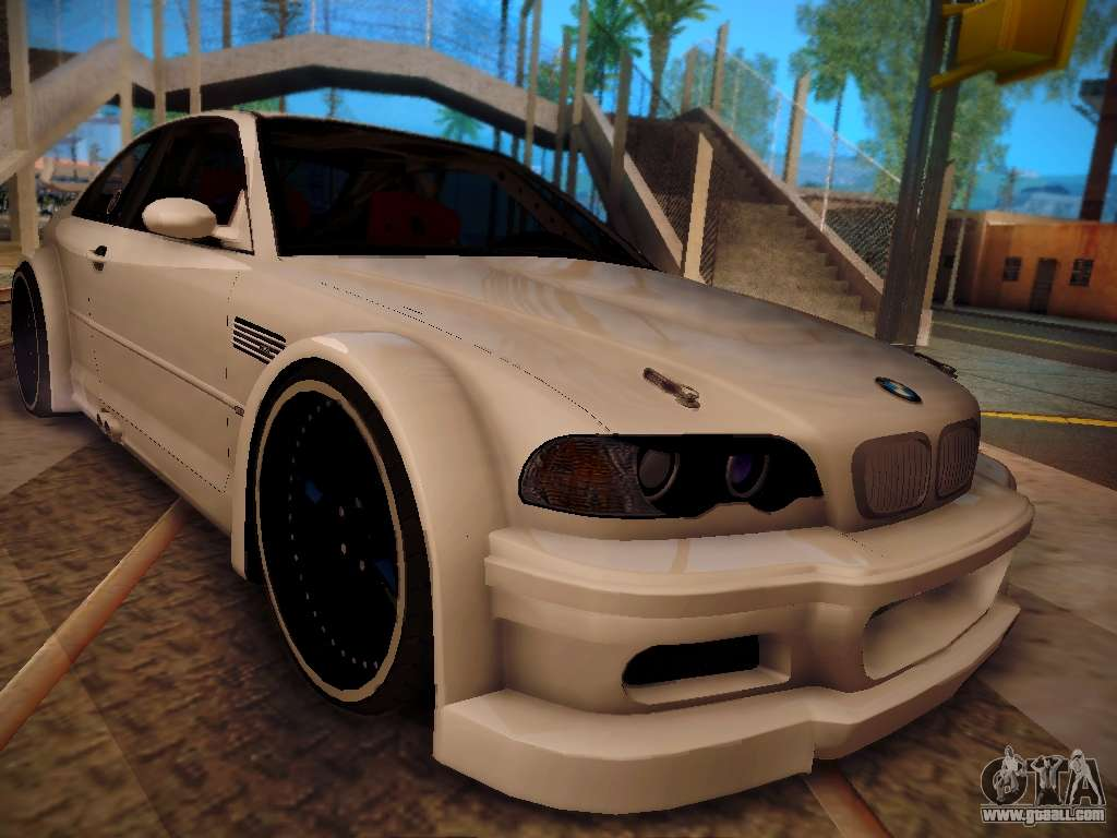 Bmw M3 E46 Tuning For Gta San Andreas