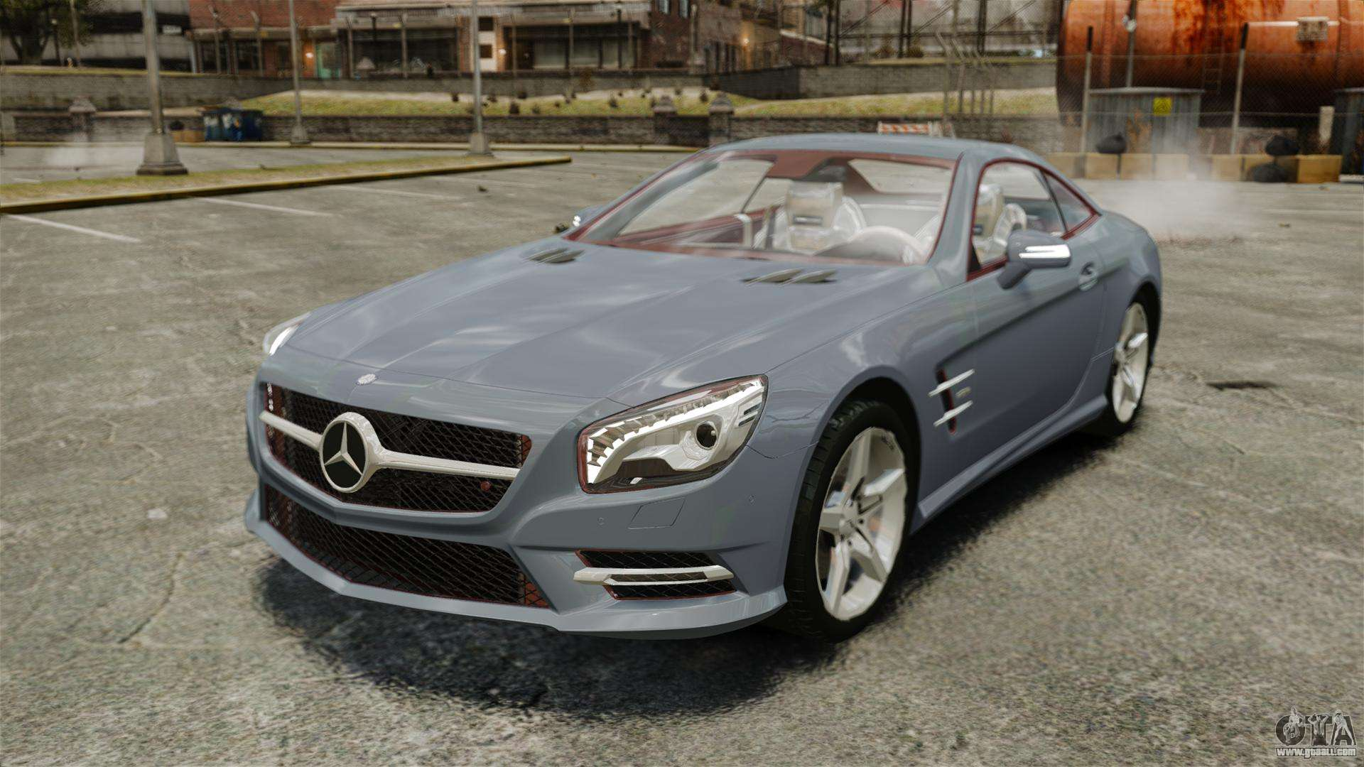 Mercedes benz sl500 2013 for gta 4 for Mercedes benz gta