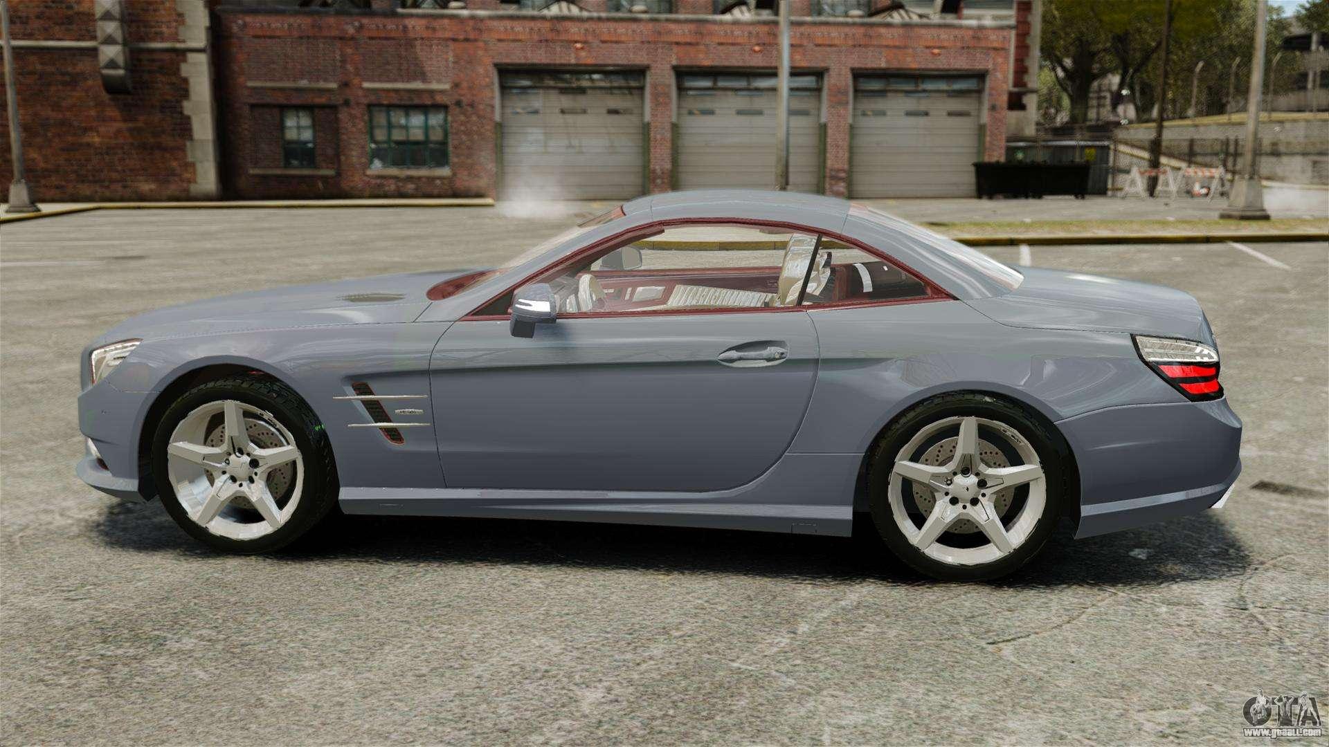 Mercedes benz sl500 2013 for gta 4 for Mercedes benz sl 2013