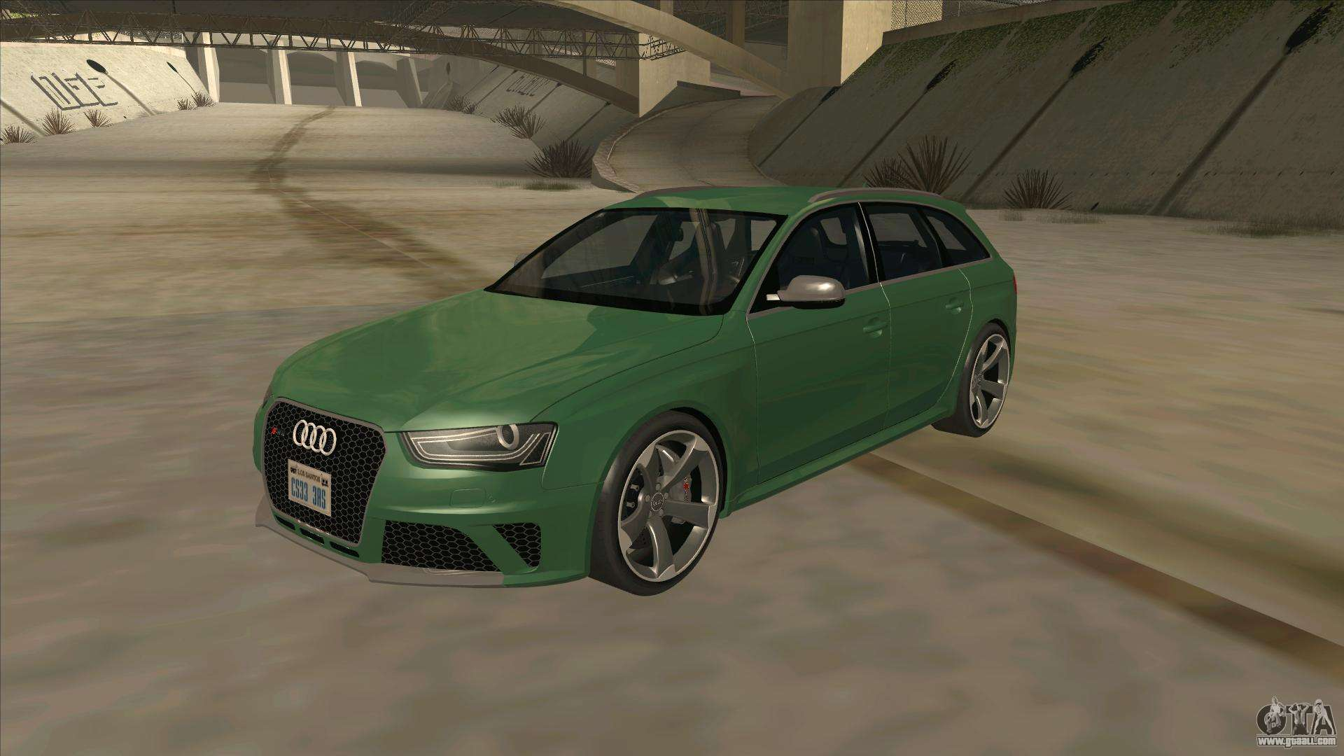 audi rs4 avant b8 2013 v2 0 for gta san andreas. Black Bedroom Furniture Sets. Home Design Ideas