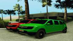 Dacia Duster Limo for GTA San Andreas