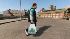 The Starbucks Coffee logo packages for GTA 4
