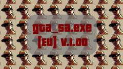 Original file gta_sa.exe [EU] v. 1.00 for GTA San Andreas