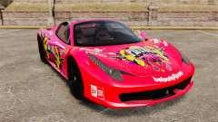 Ferrari 458 Spider Pink Pistol 027 Gumball 3000 for GTA 4