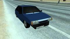 VAZ 2108 a dozen Blue for GTA San Andreas