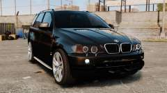 BMW X5 4.8iS v1 for GTA 4
