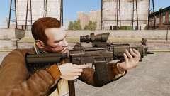 The SIG 552 assault rifle