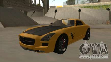 Mercedes SLS AMG Hamann 2010 V1.0 for GTA San Andreas