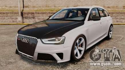 Audi RS4 Avant 2013 Sport v2.0 for GTA 4