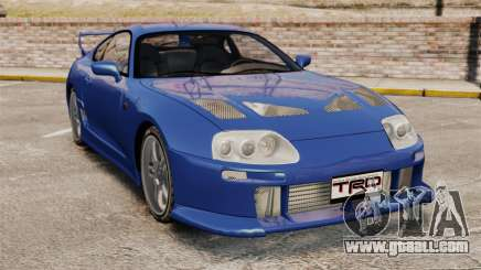 Toyota Supra MKIV TRD 1995 for GTA 4