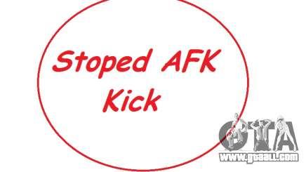 AntiAFK Bot 2.1.6 by Ruskadanace for GTA San Andreas