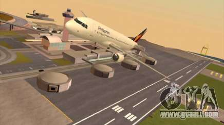 Airbus A320-211 Philippines Airlines for GTA San Andreas