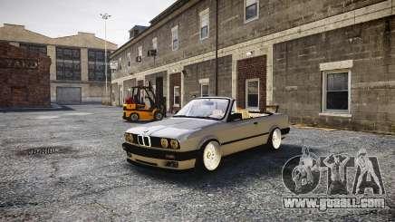 BMW M3 E30 Cabrio Stanced for GTA 4