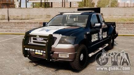 Ford F-150 De La Policia Federal [ELS & EPM] v3 for GTA 4