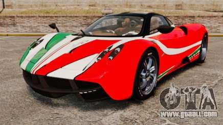 Pagani Huayra 2011 [EPM] Italian for GTA 4