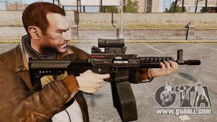 Игра Grand Theft Auto 4. Оружие для GTA 4. Ares Shrike для GTA