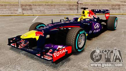 Car, Red Bull RB9 v1 for GTA 4