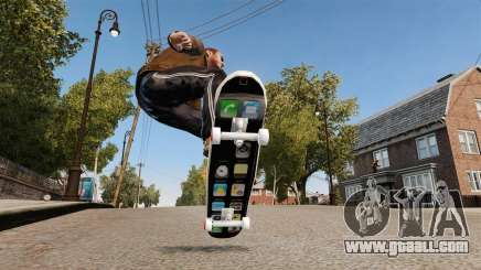 Skateboard iPhone for GTA 4