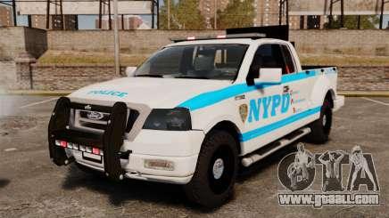 Ford F-150 v3.3 NYPD [ELS & EPM] v1 for GTA 4