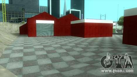 New garage in Doherty for GTA San Andreas forth screenshot