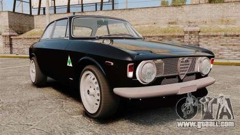 Alfa Romeo Giulia 1965 Sprint GTA Stradale for GTA 4