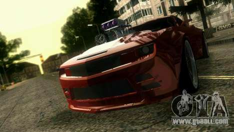 Chevrolet Camaro JR Tuning for GTA Vice City