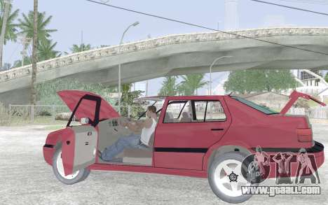 Volkswagen Vento for GTA San Andreas bottom view