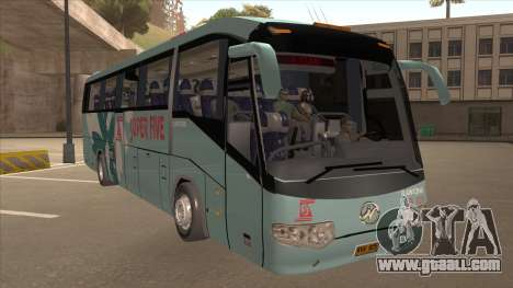 Higer KLQ6129QE - Super Fice Transport S 020 for GTA San Andreas left view