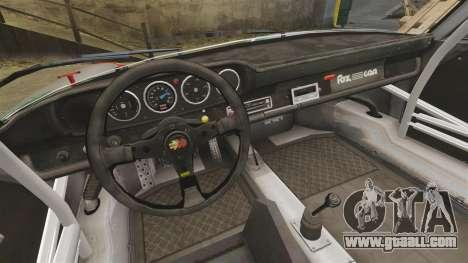 Porsche 911 RSR 3.3 for GTA 4 inner view