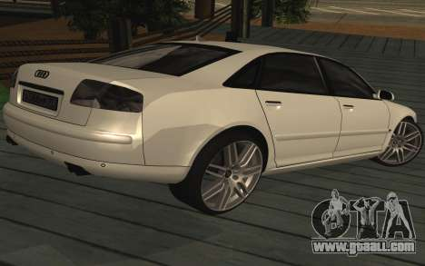 Audi A8L D3 for GTA San Andreas left view