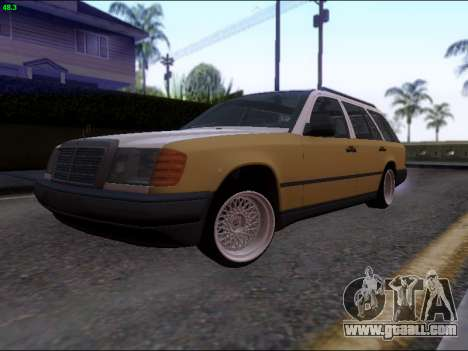 Mercedes-Benz E-Class W124 for GTA San Andreas left view