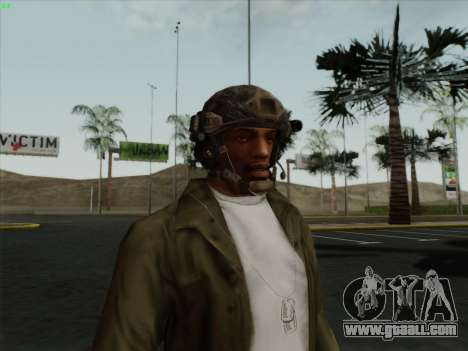 Helmet from Call of Duty MW3 for GTA San Andreas second screenshot