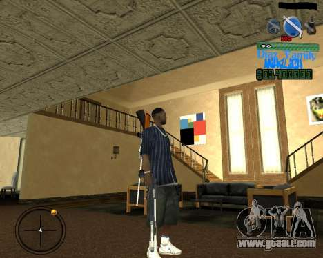 C-Hud for SA:MP for GTA San Andreas second screenshot