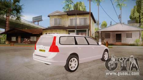 Volvo V70 Unmarked Police for GTA San Andreas right view