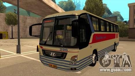 Davao Metro Shuttle 296 for GTA San Andreas