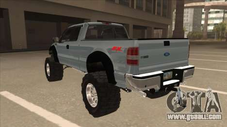 Ford F-150 EXT Off Road 2007 for GTA San Andreas back view