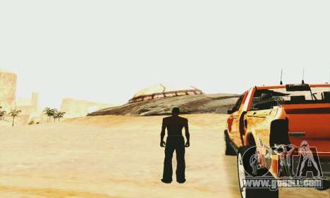 UFO Crash Site for GTA San Andreas
