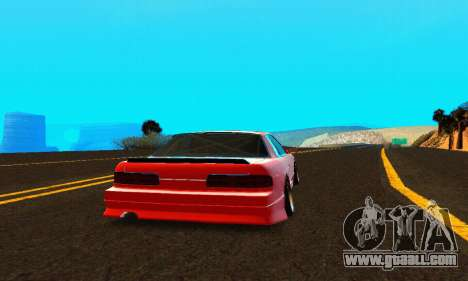 Nissan Silvia S13 HellaDrift for GTA San Andreas right view