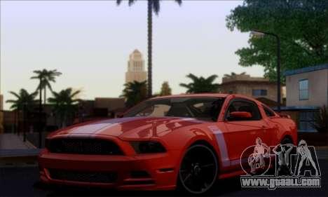 FF TG ICY ENB V1.0 for GTA San Andreas forth screenshot