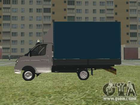 3302 Gazelle for GTA San Andreas back left view