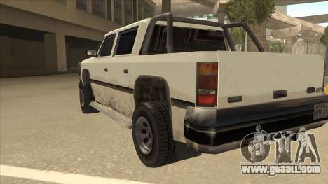 Declasse Rancher FXT for GTA San Andreas back view